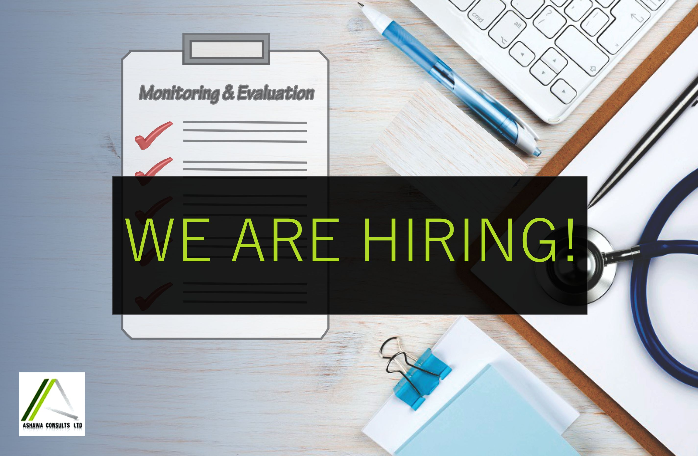 VACANCY: MONITORING AND  EVALUATION  OFFICER