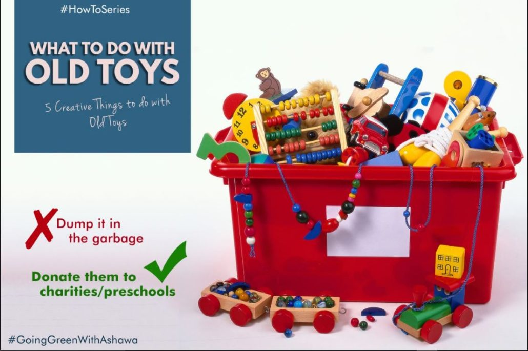 5 CREATIVE THINGS TO DO WITH OLD TOYS – Ashawa Consults Ltd