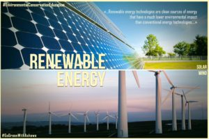 RENEWABLE  ENERGY: WHY NIGERIA SHOULD CARE