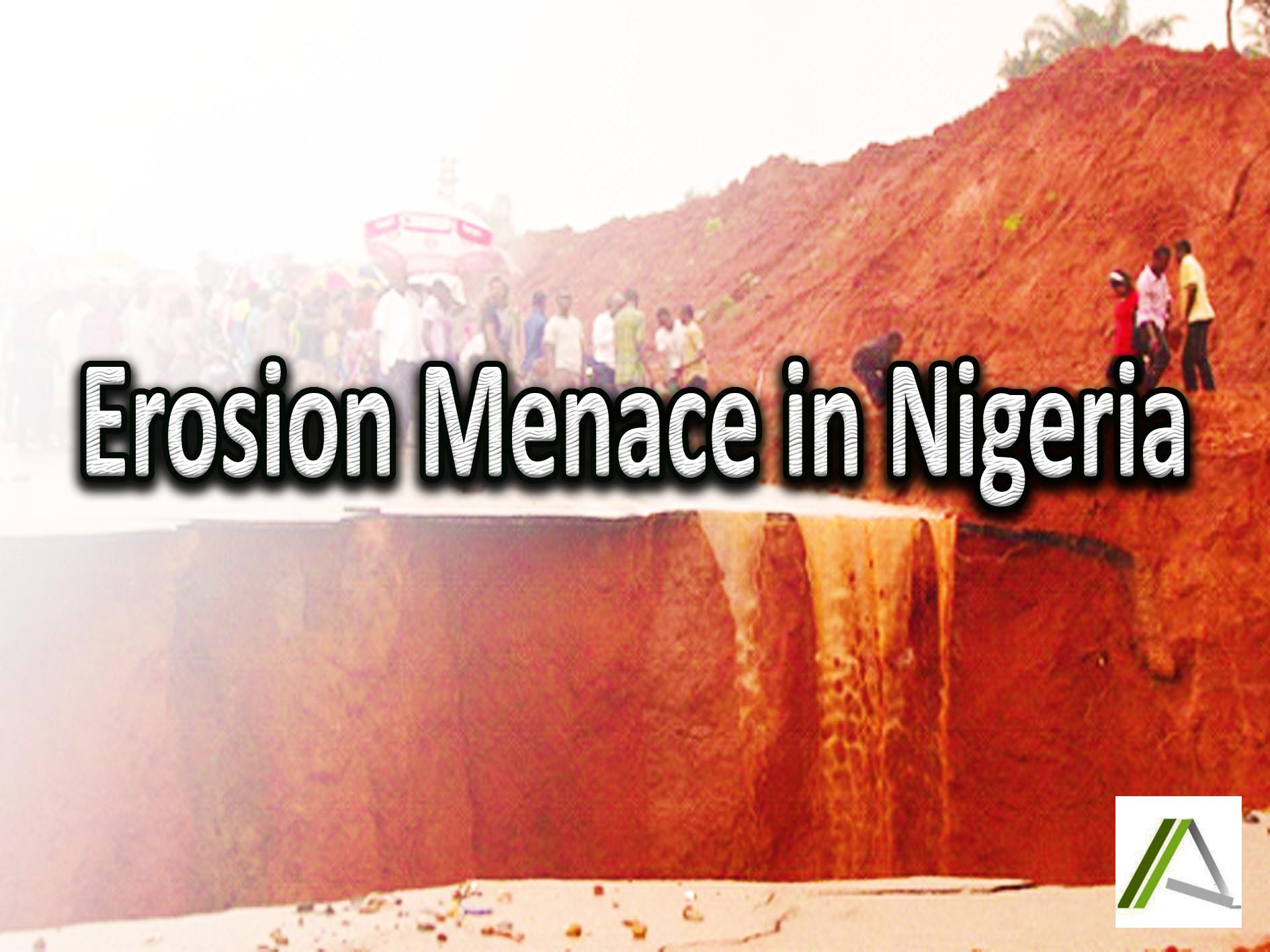 EROSION  MENACE  IN  NIGERIA
