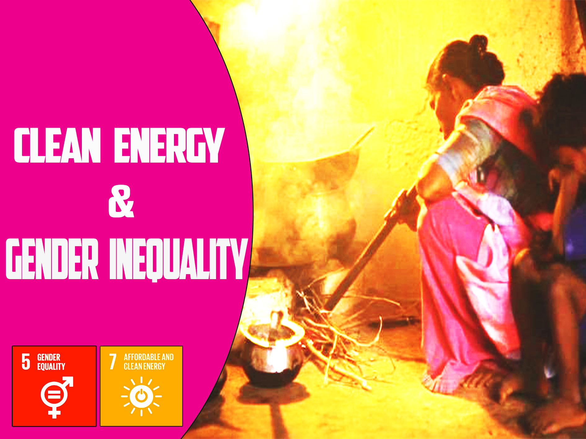 CLEAN ENERGY AND GENDER INEQUALITY