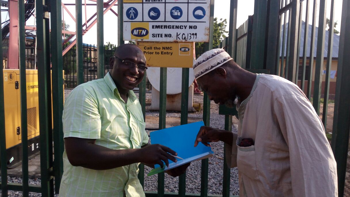 EA OF MTN BTS SITES IN 8 NORTHERN STATES & THE FCT – 2015